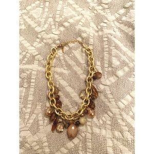 Saks Fifth Avenue Gold & Jewel Tones Necklace
